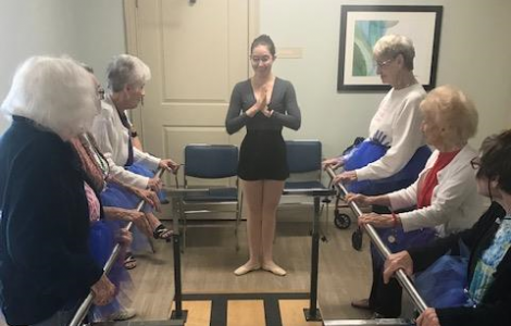 Active Aging Week: Ballet with Mackenna